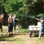 Osvěžení v táboře