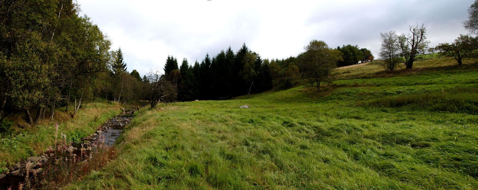 Panorama tábořiště