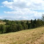 Údolí Mohelnice se zaniklou vesnicí Mohelnice a vrcholem Mohelnice