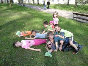 Žížaly v parku