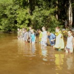 Etapová hra v rybníku