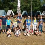 Tábor před výletem