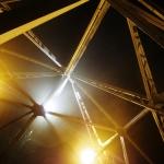 Industriální pohled na Petřínskou rozhlednu