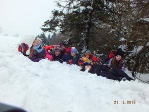 Sněhové foto