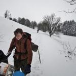 Cesta zmrzlou krajinou