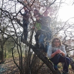 Družina na stromě