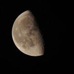 Měsíc - táborová romantika