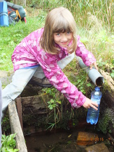 Kroky a doplňování vody