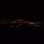 Noční Teplice-pohled z hor