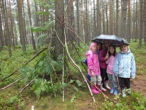 Ani déšť nás v boji nezastavil!